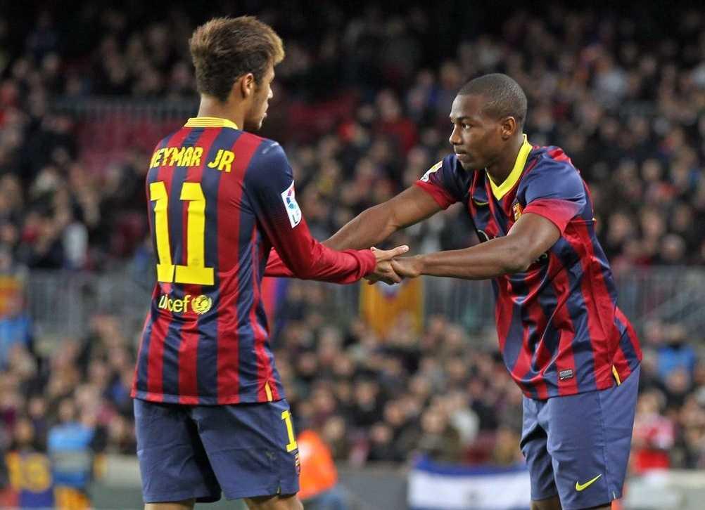 Adama Traore Barcelona debut