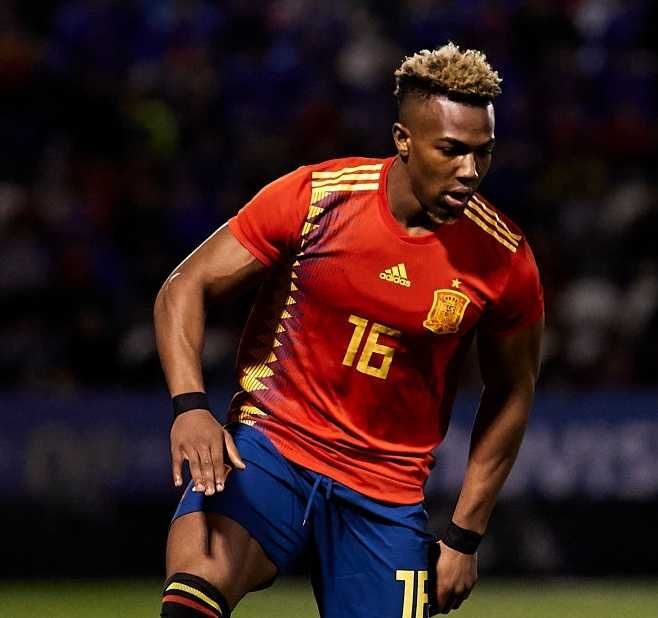 Adama Traore Spain youth