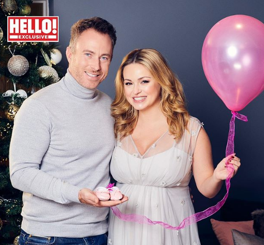 Ola Jordan With Her Husband, James Jordan