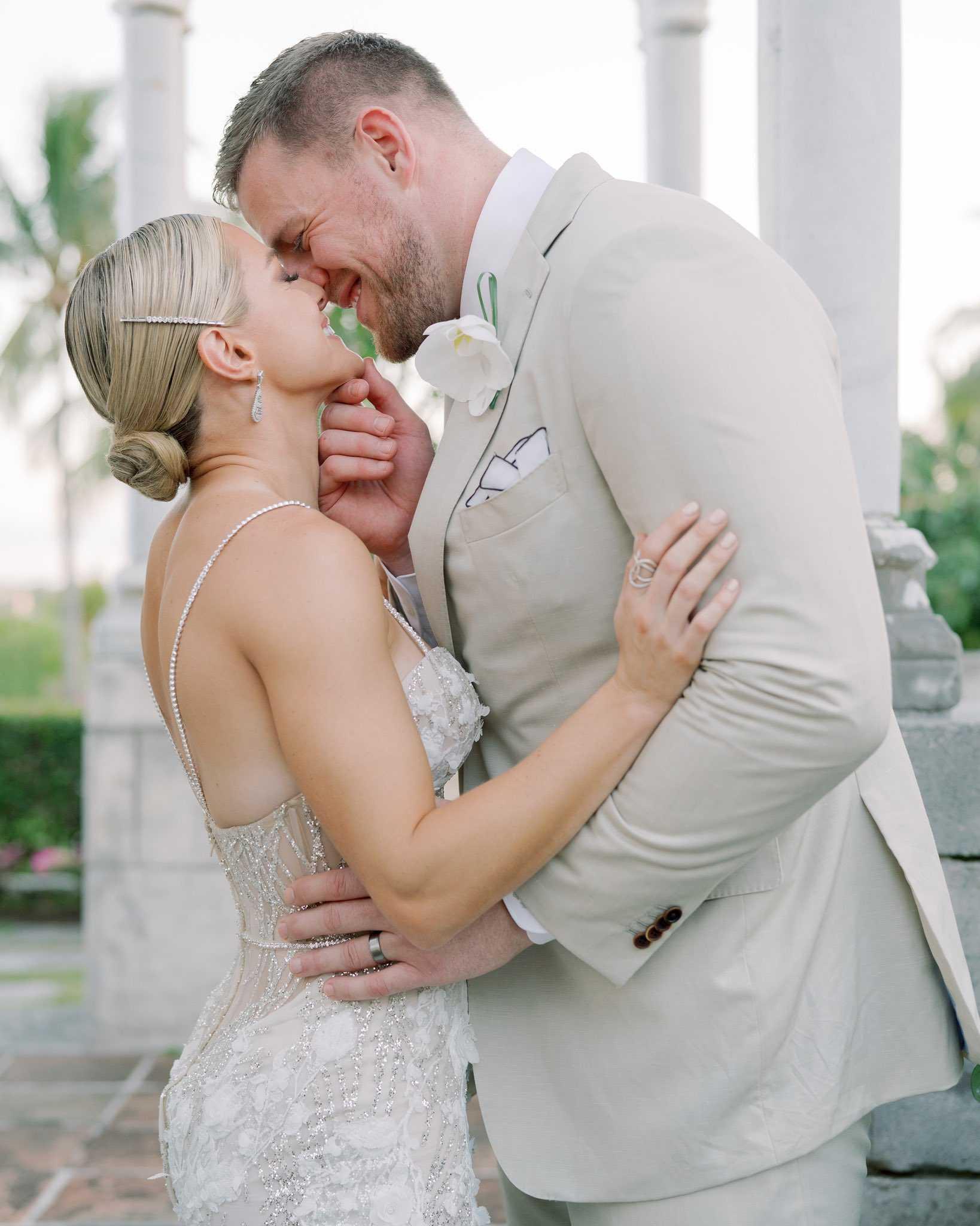 Kealia Ohai and J.J. Watt were married