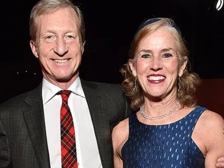 Tom Steyer With His Wife, Kat Taylor