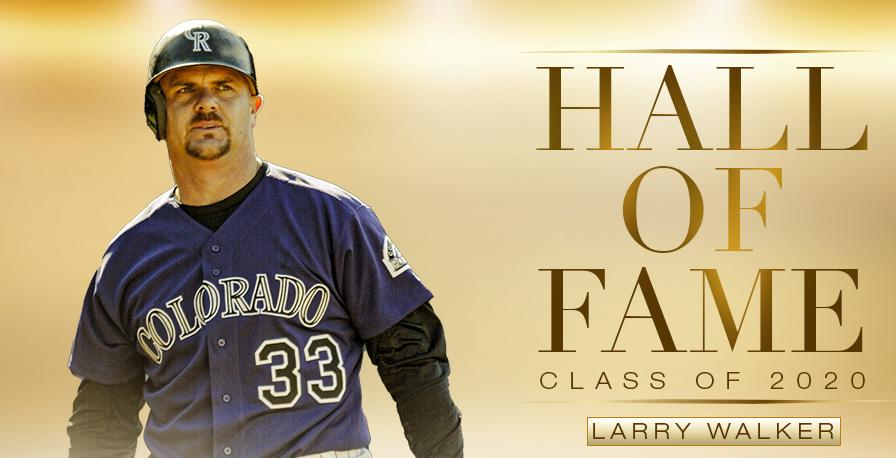 Larry Walker Hall of Fame 2020 class
