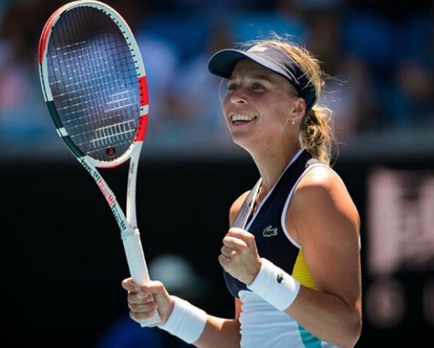 Anett Playing At Australian Open 2020