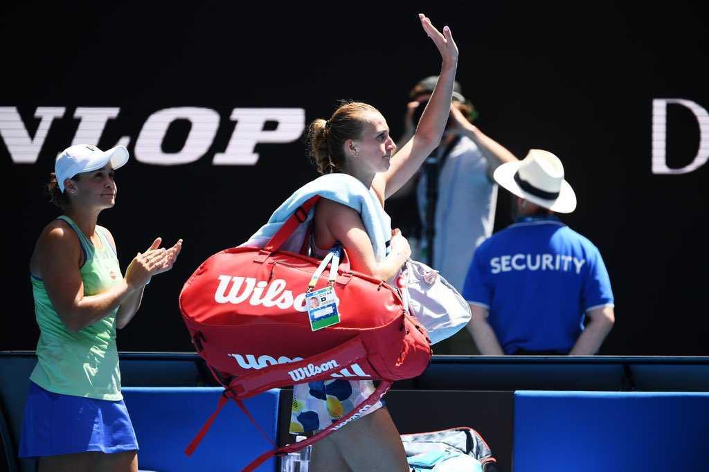 Petra Kvitová Czech Tennis Player