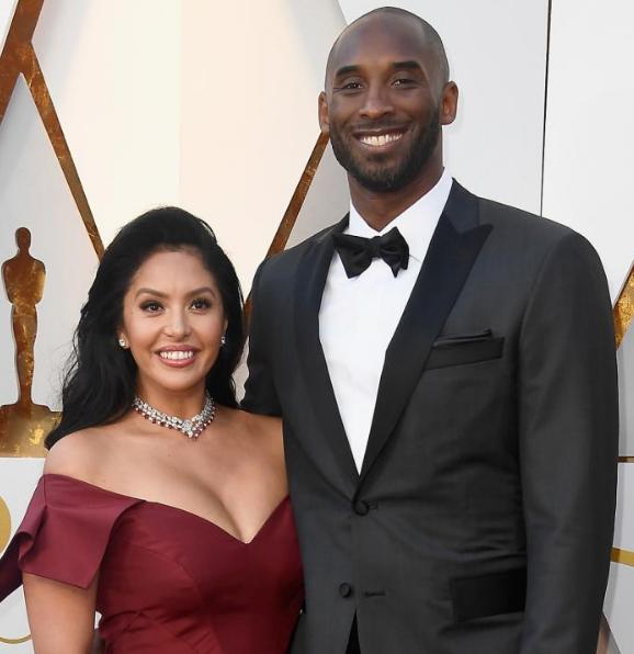 Vanessa Bryant With Kobe Bryant