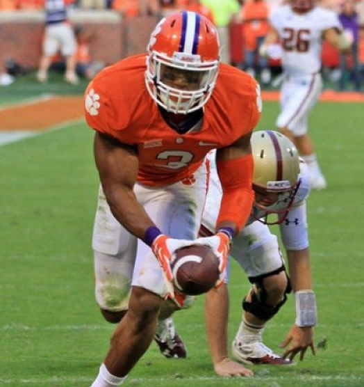 Vic Beasley With Ball