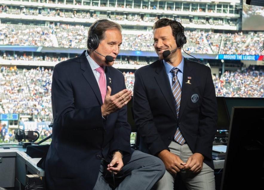 Tony Romo CBS