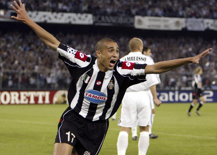 David Trezeguet Celebrating After A Goal