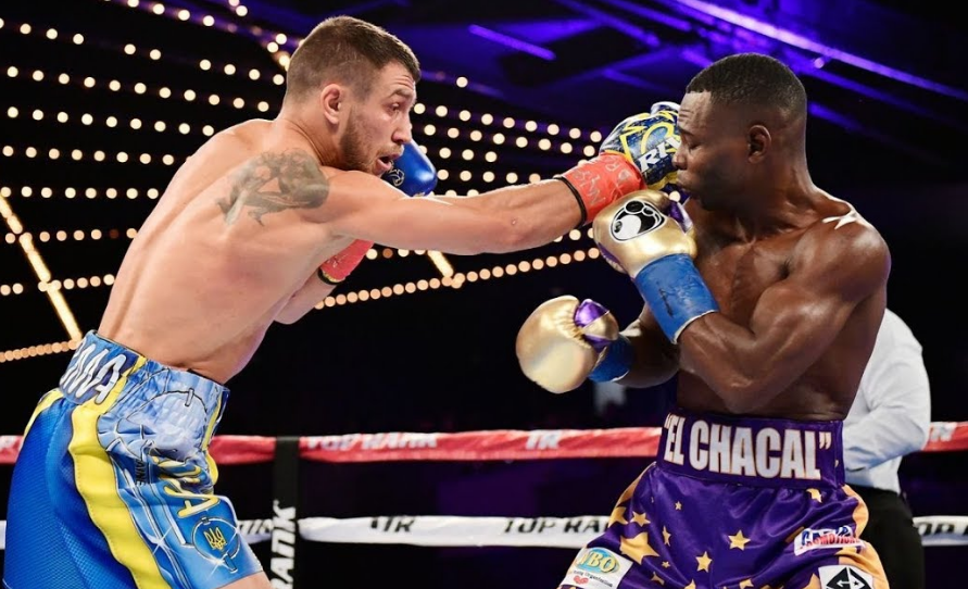 Guillermo Rigondeaux Fighting Against Vasyl