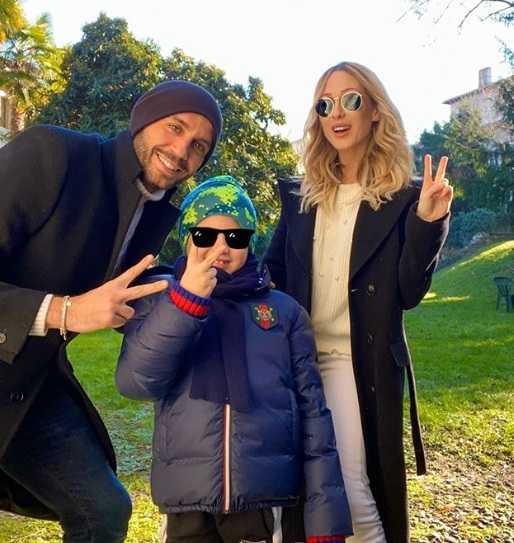 Giampaolo Pazzini Family