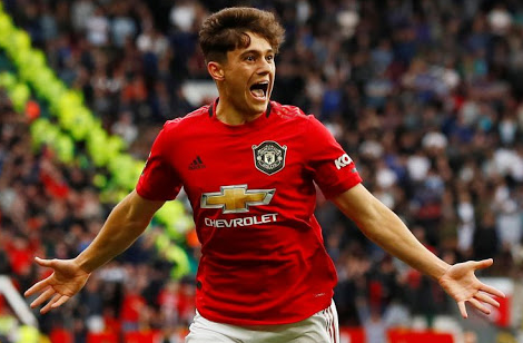 Daniel James Celebrating After A Goal