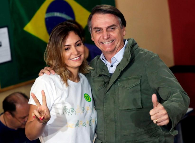 Jair Bolsonaro wife