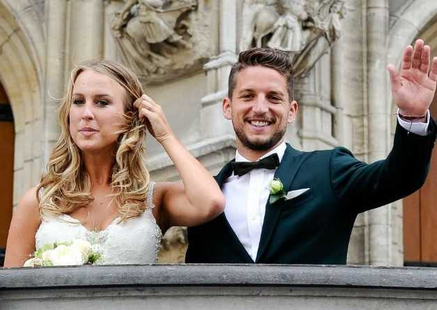 Dries Mertens wife