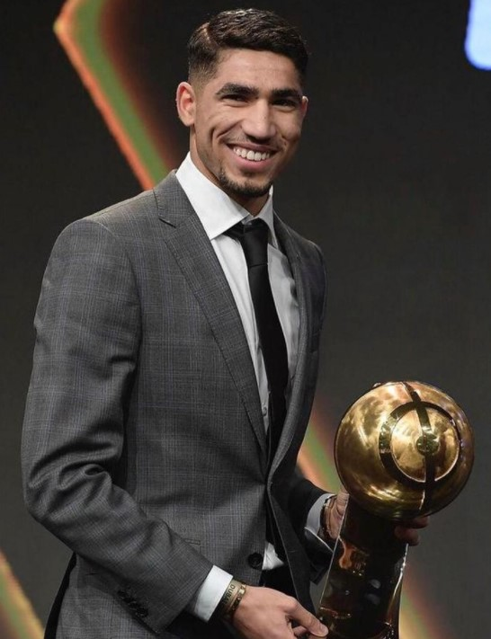 Achraf Hakimi Globe Soccer