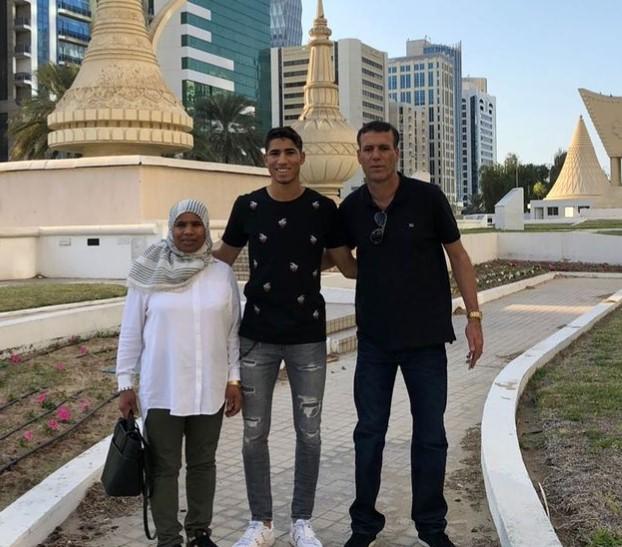 Achraf Hakimi parents