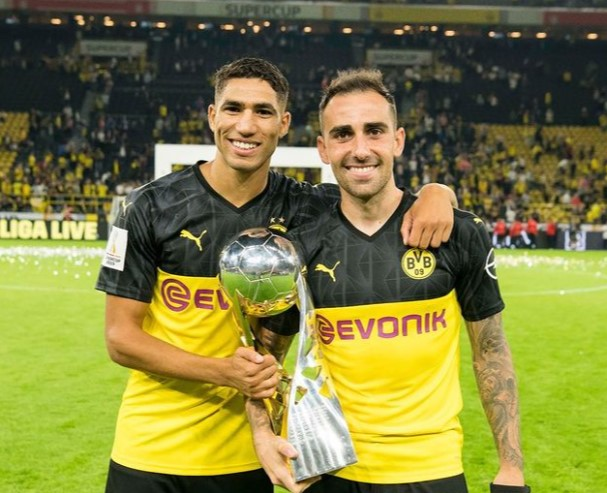 Achraf Hakimi Borussia Dortmund