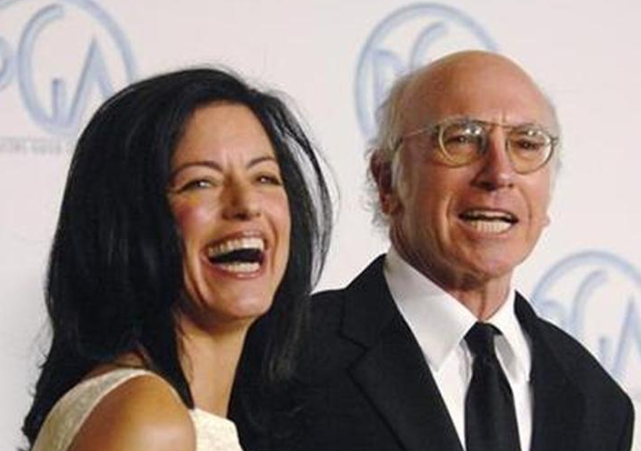 Larry David With His EX Wife