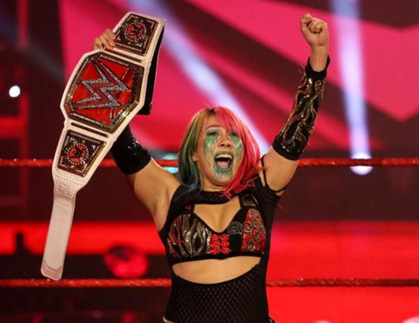 Asuka RAW Champion