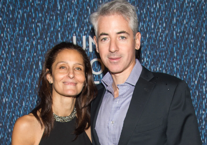 Bill Ackman With His Wife