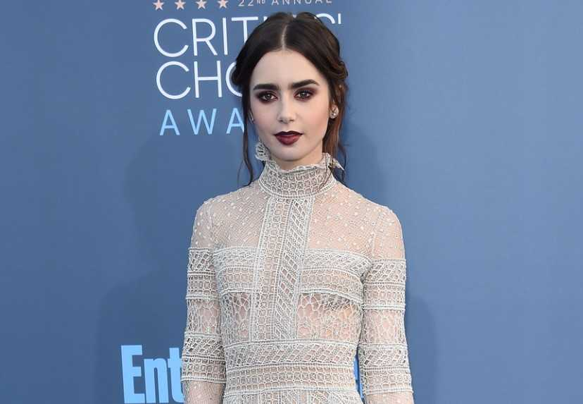 Lily Collins Awards