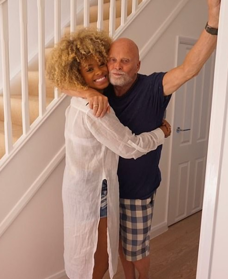 Fleur East Revealed That Her Father, Malcolm Died