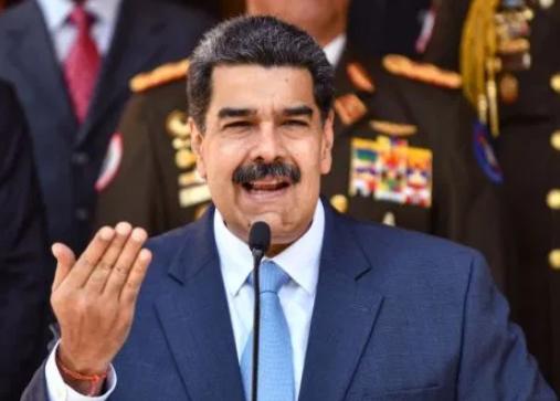 Nicolas Maduro Speeching