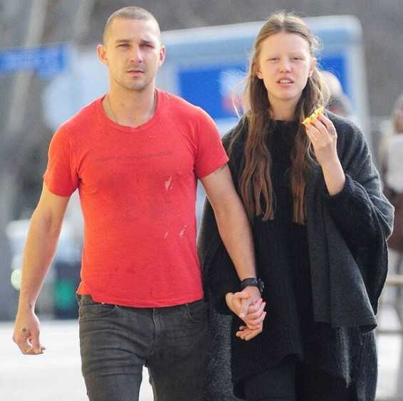 Mia Goth Husband