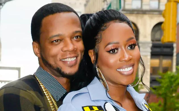 Remy Ma With Her Husband