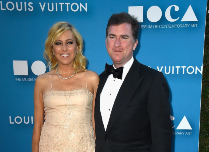 Sutton Stracke and her ex-husband, Christian Stracke