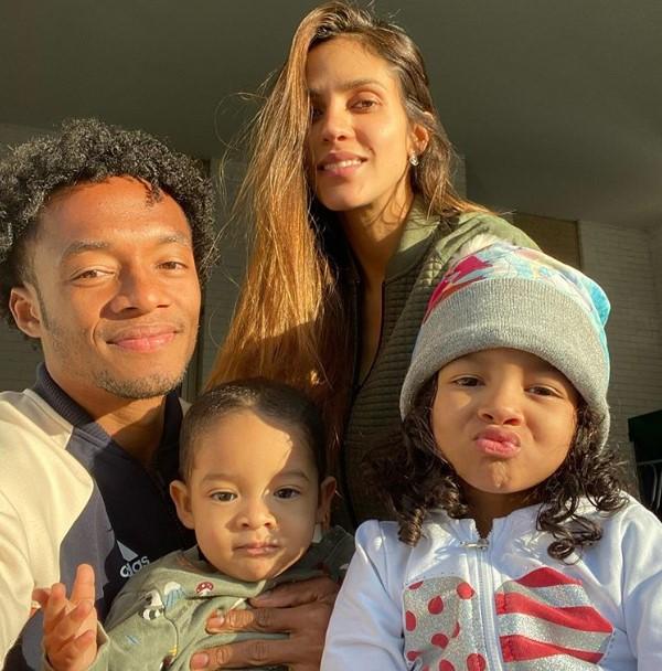 Juan Cuadrado Family