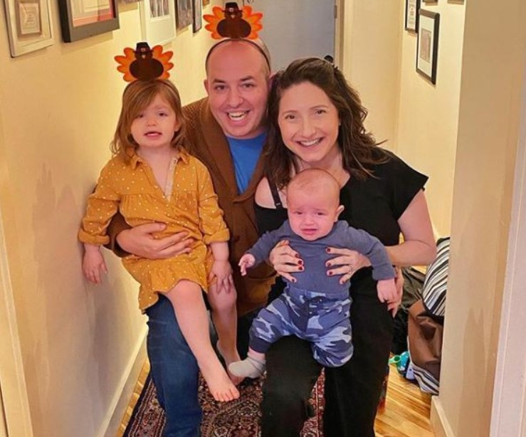Brian Stelter family