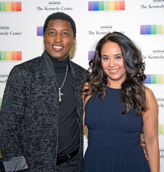 Babyface with his Wife, Nicole