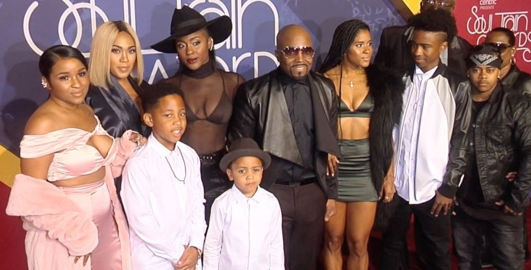 Teddy Riley Family