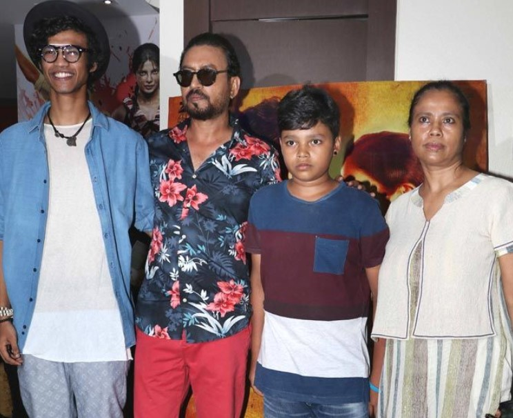 Irrfan Khan Kids