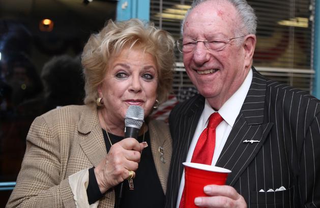 Carolyn Goodman and her husband Oscar Goodman