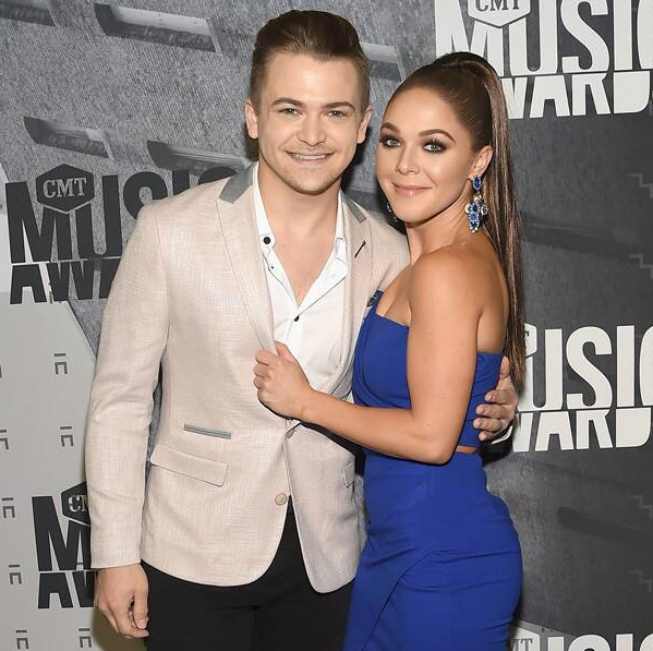 Hunter Hayes With His ex-Girlfriend Libby Barnes