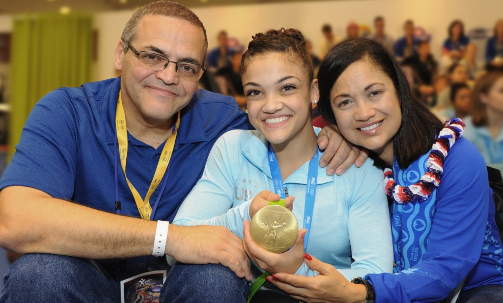 Laurie Hernandez Parents