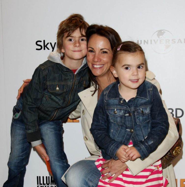 Andrea McLean kids