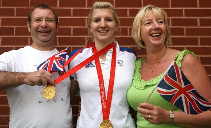Rebecca Adlington parents