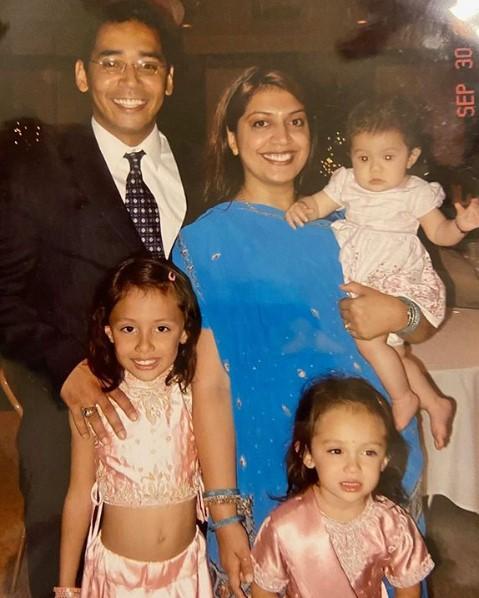 Avani Gregg family