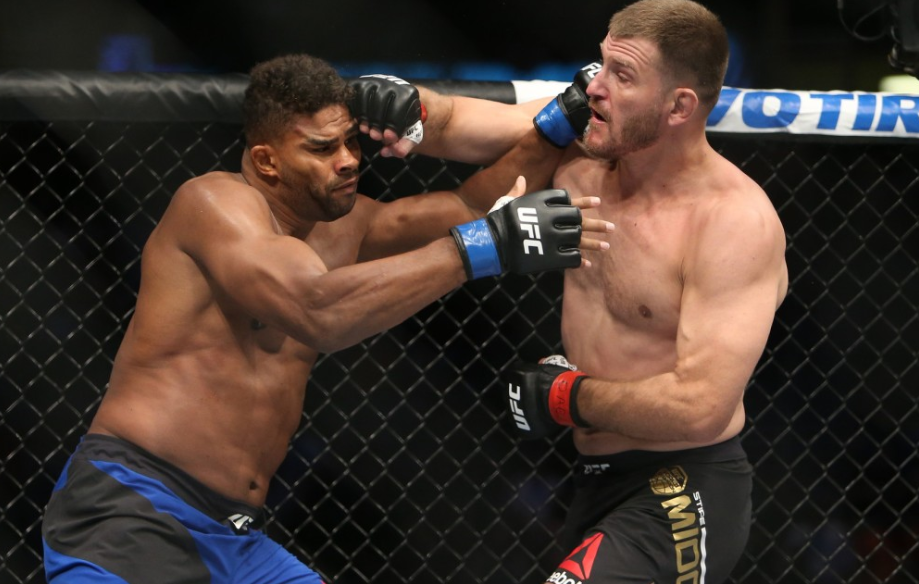 Alistair Overeem against Stipe Miocic