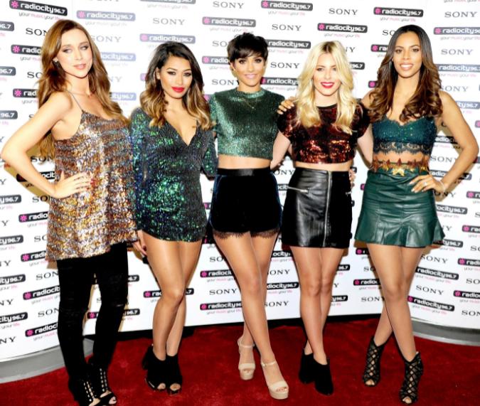 The Girlgroup 'The Saturdays'