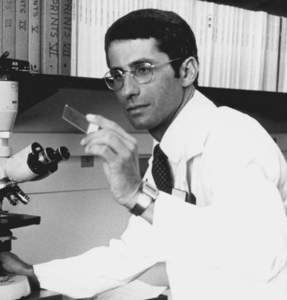 Anthony Fauci, a famous physician