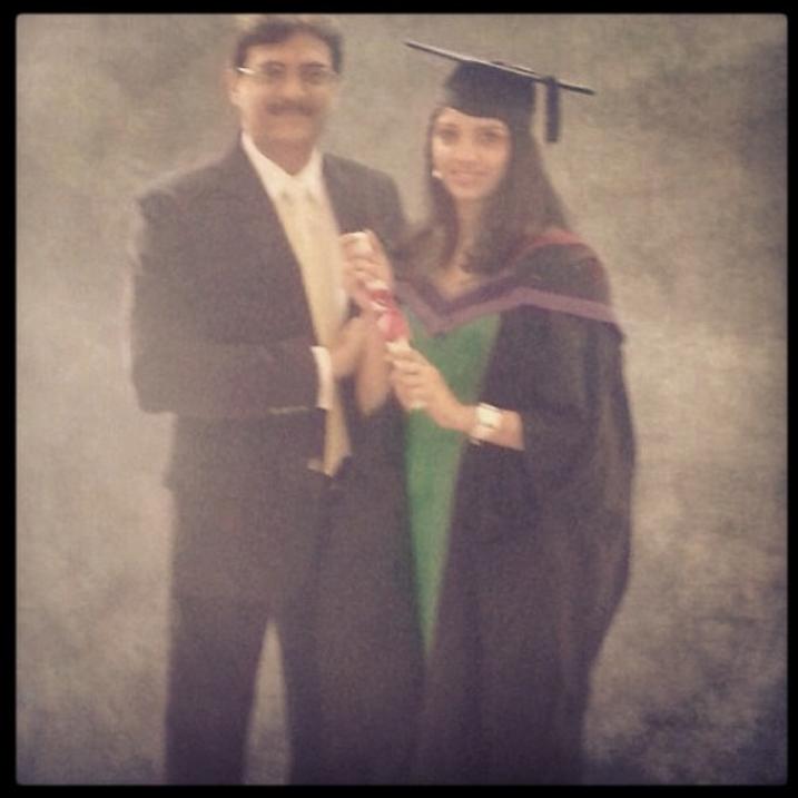 Miheeka Bajaj Graduation Master Degree