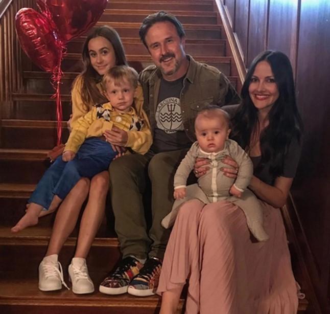 David Arquette family