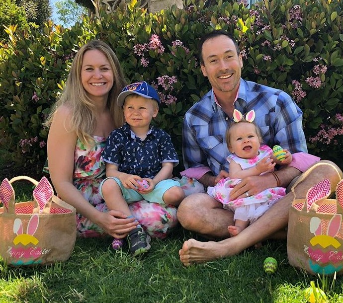 Chris Klein family
