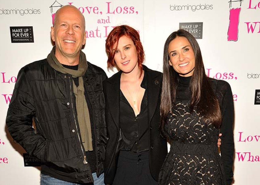 Rumer Willis parents