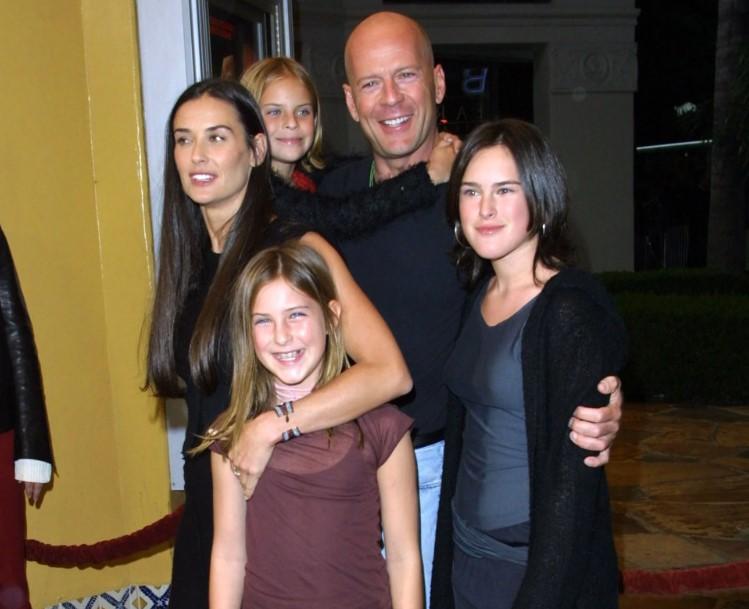 Rumer Willis family