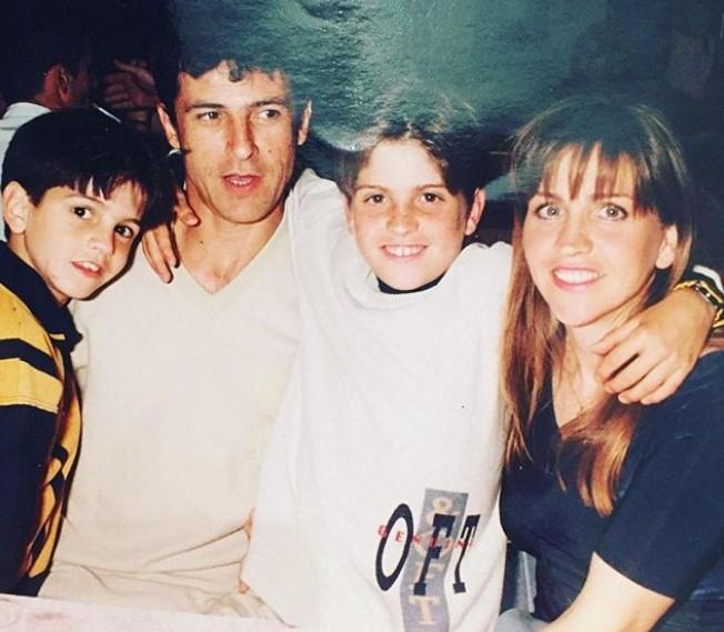 Gerard Moreno family