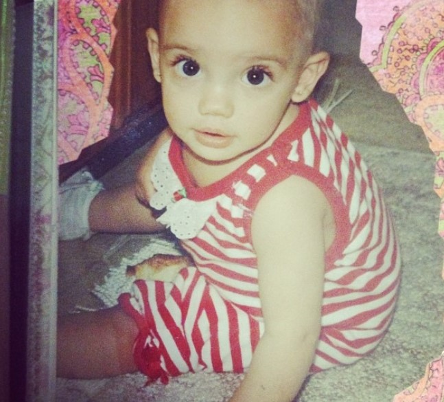 Sofia Franklyn young